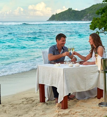 Reserve a romantic beachfront experience