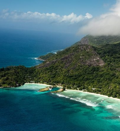 We're third largest island in the Seychelles