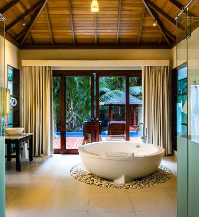 Sanctuary pool villa bathroom